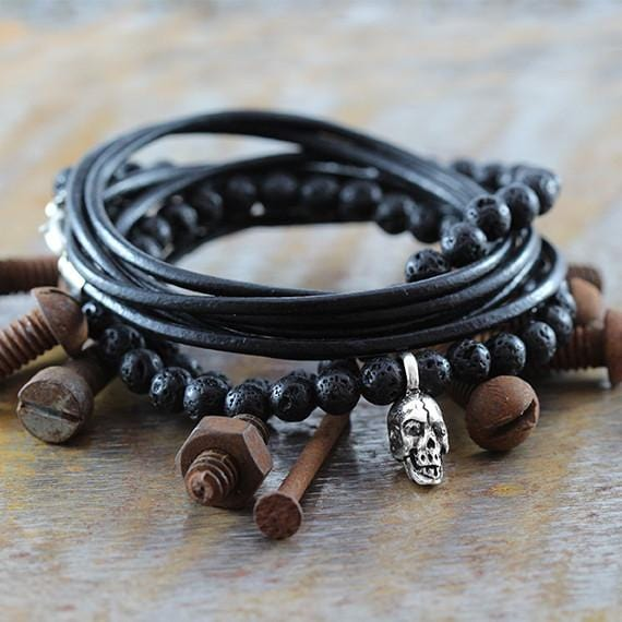 rustic mens jewelry