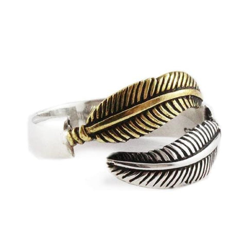 small feather ring