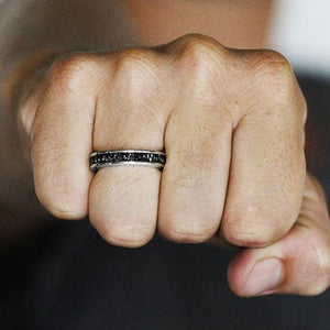 uncut diamond ring