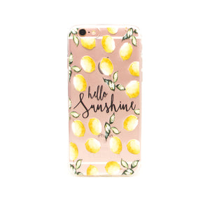 iPhone hoesje - Lemon