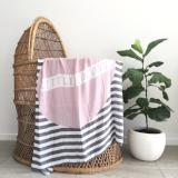 Little Coconut Baby Swaddle In Mauve