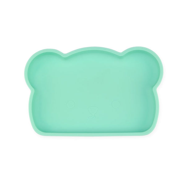 Bear Silicone Plate - Mint