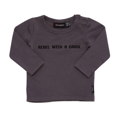Rebel With A Cause LS T-Shirt