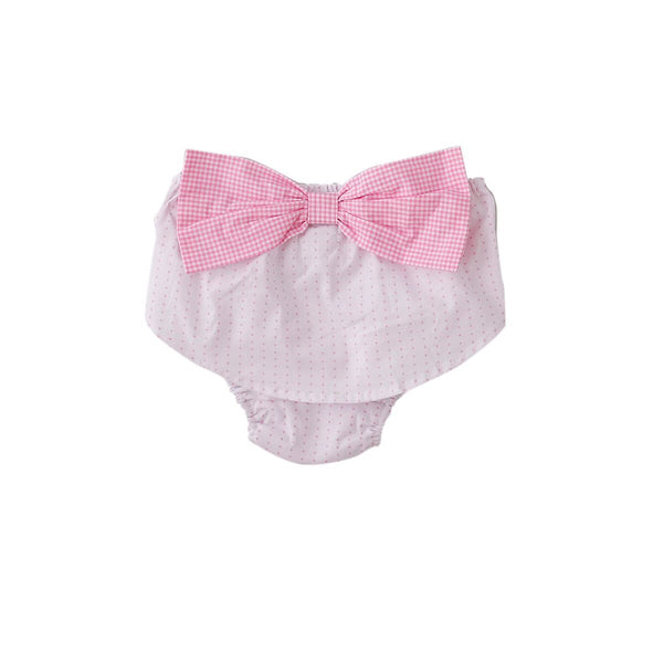 Cassie Nappy Cover In Pink Cross