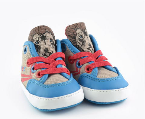 Infant Lion Delta Mid Animal Sneaker