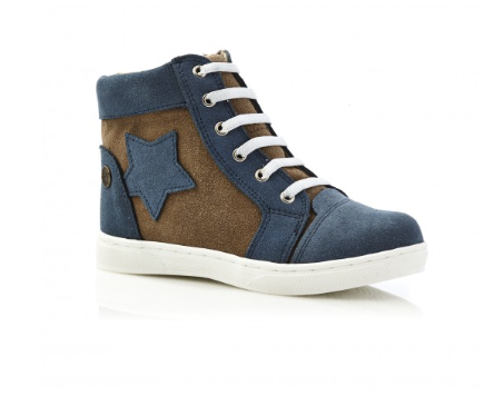 Kick High Top C Navy Taupe