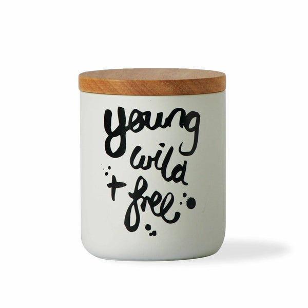 'Young, Wild, Free' Canister