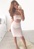 SALE - Maya Choker Bodycon Dress - L XL