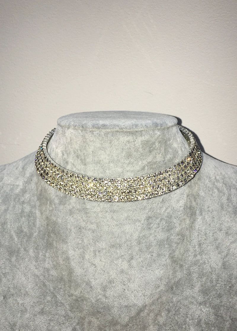 Crystal Choker - Four Row