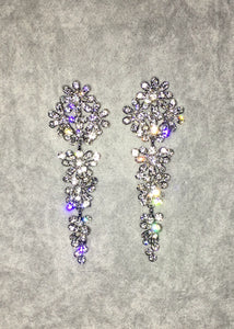 Crystal Earrings - Style VI