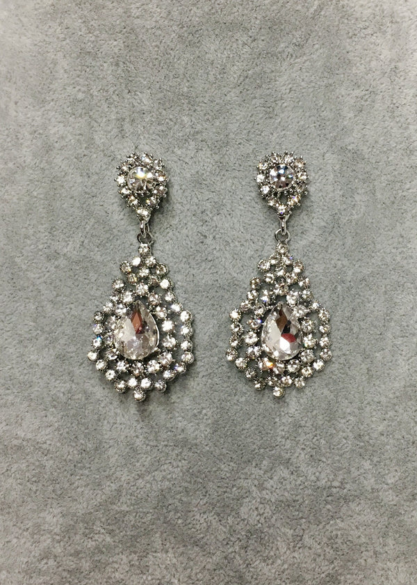 Crystal Earrings - Style V