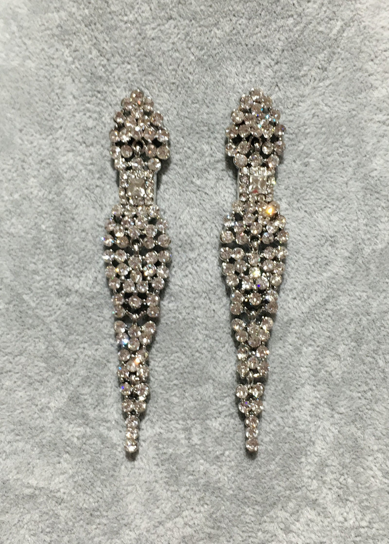 Crystal Earrings - Style VII