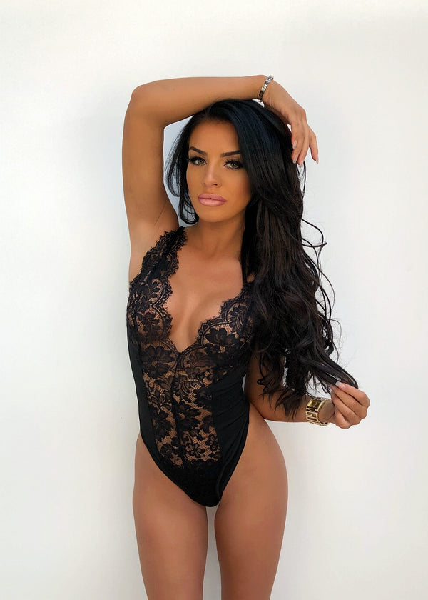 'Dark Matter' Lace Bodysuit
