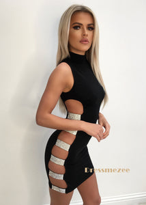 'All About That Bling' Cut out Dress