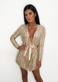 '24K Magic' Glitter Playsuit