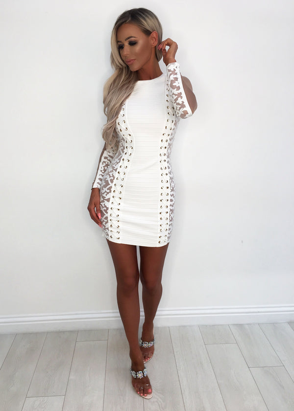Cloud 9 Devine Bandage Dress XS