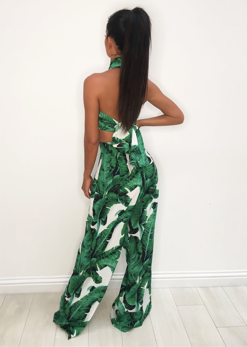 'Turn Up The Heat' Two Piece - Tropical Print