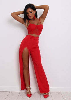 Burning Desire Two Piece - Red