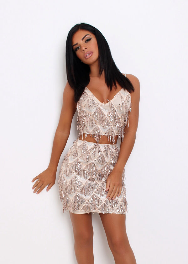 Disco Queen Tassel Two Piece