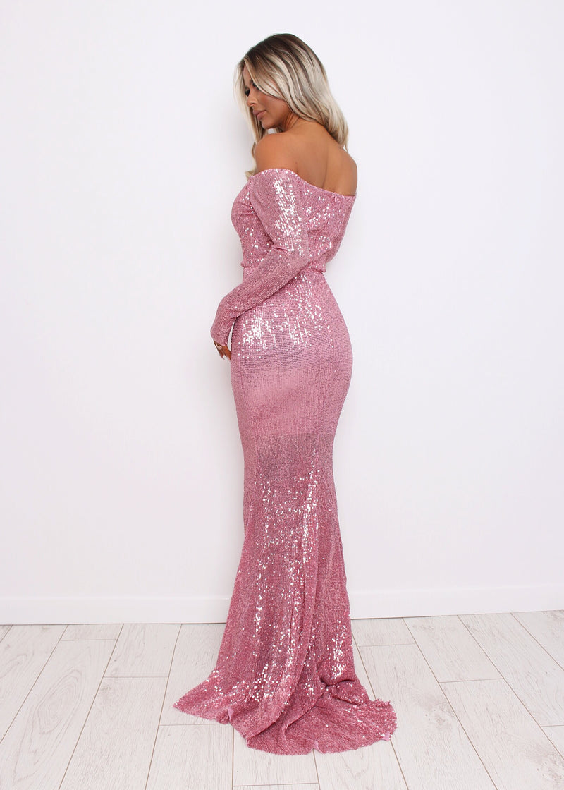 'High Society' Gown - Pink