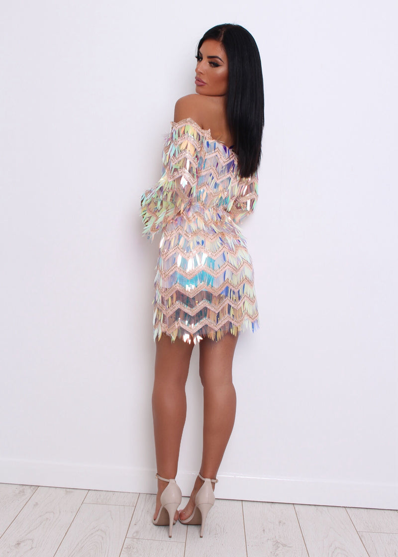 'Uptown Funk' Playsuit - Hologram