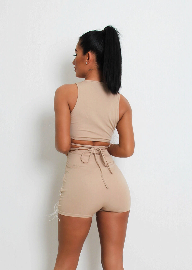 The Wanted Two Piece - Nude