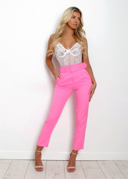 Sweet Dreamer Trousers - Hot Pink