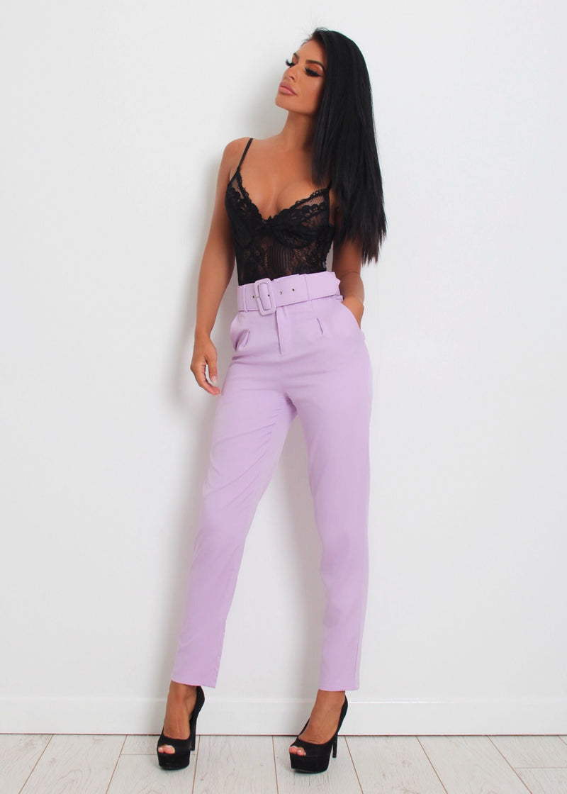Sweet Dreamer Trousers - Lilac