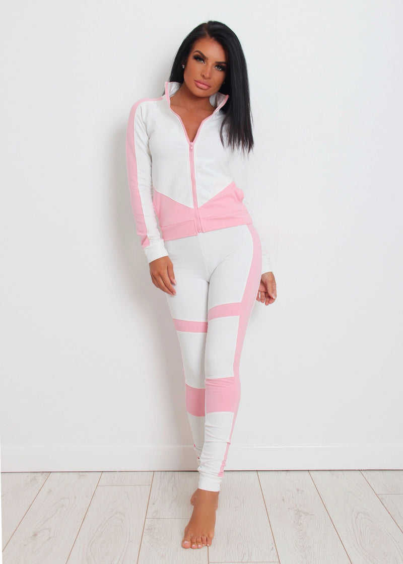 Luxe Chill Lounge Tracksuit 12
