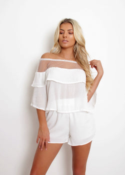 Aphrodite Two Piece - White