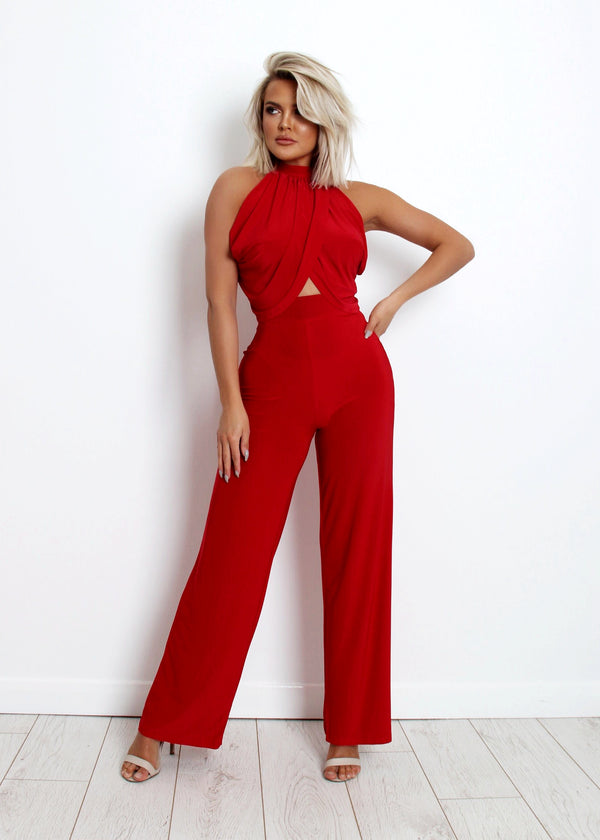 Forbidden Love Two Piece - Red