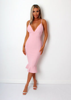 'Something About You' Dress  - Pink