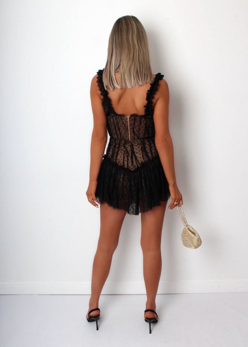Dirty Dancing Lace Dress - Black