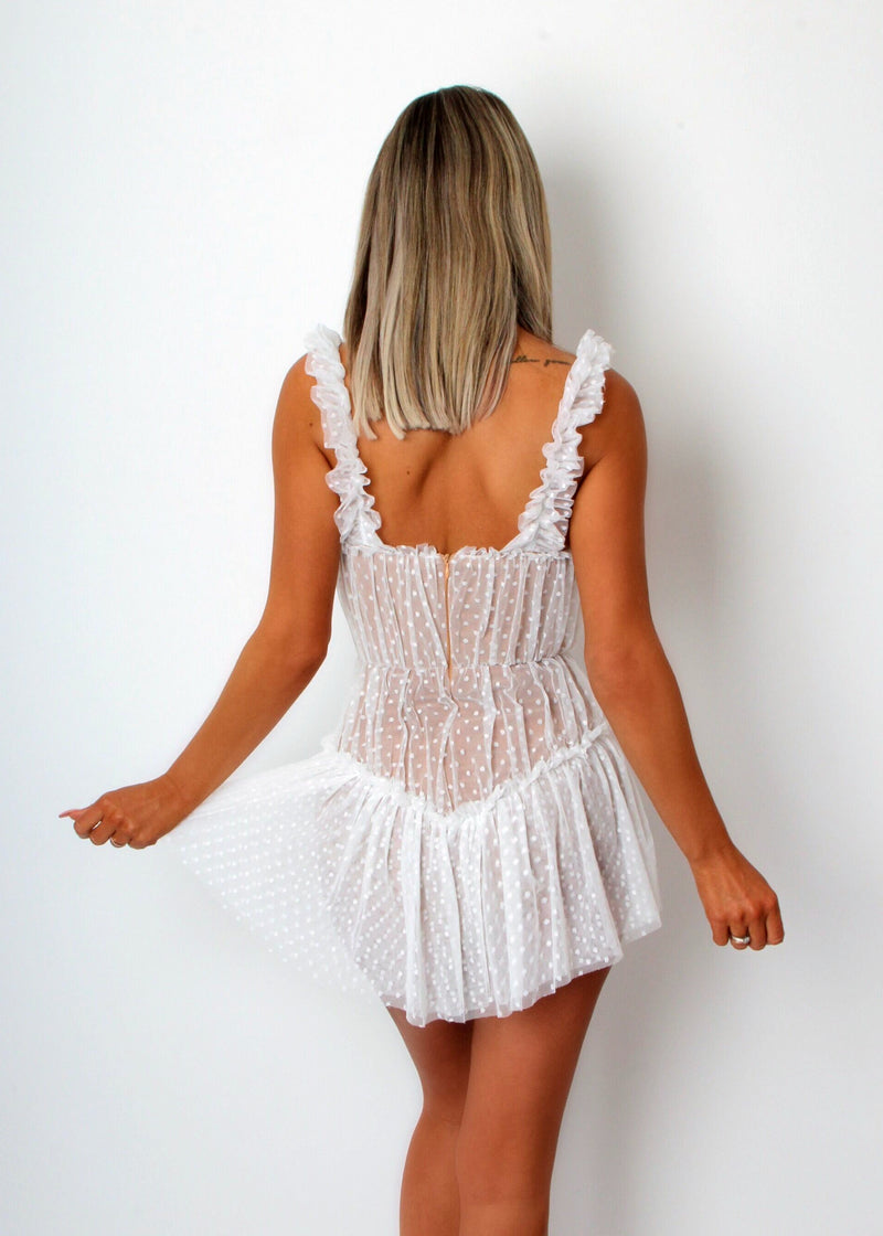 Dirty Dancing Lace Dress - White