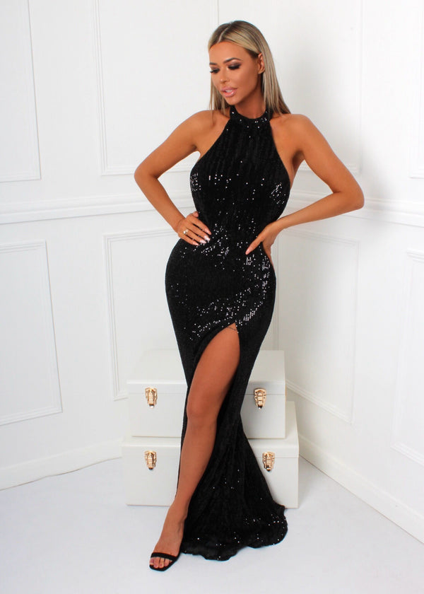 Slay The Game Gown - Black