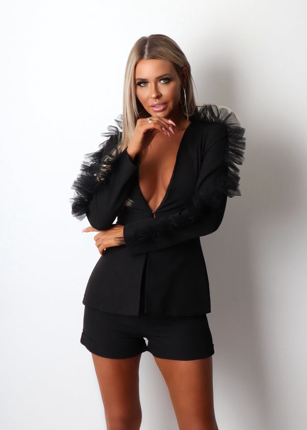 Wine And Dine Two Piece - Black