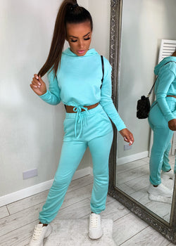 Too Busy Chilling Tracksuit - Mint