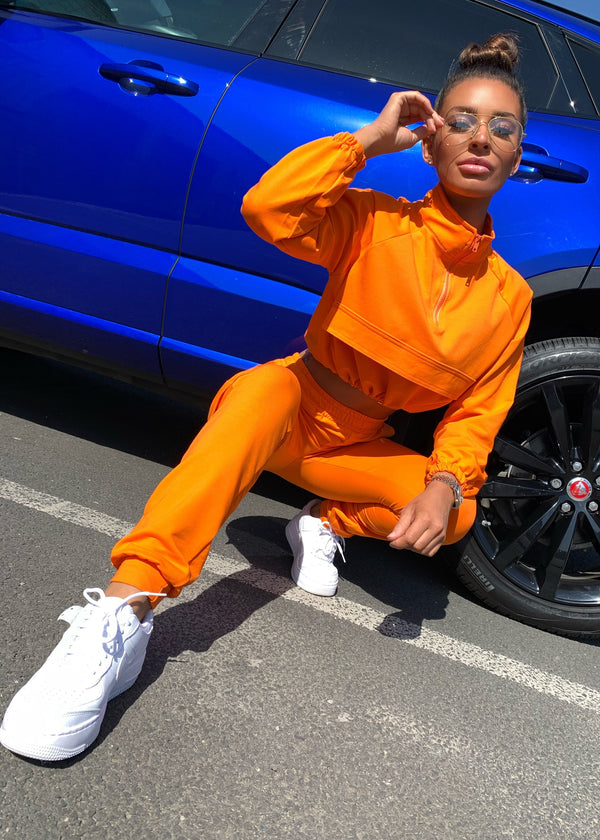 Amy Utility Tracksuit - Orange