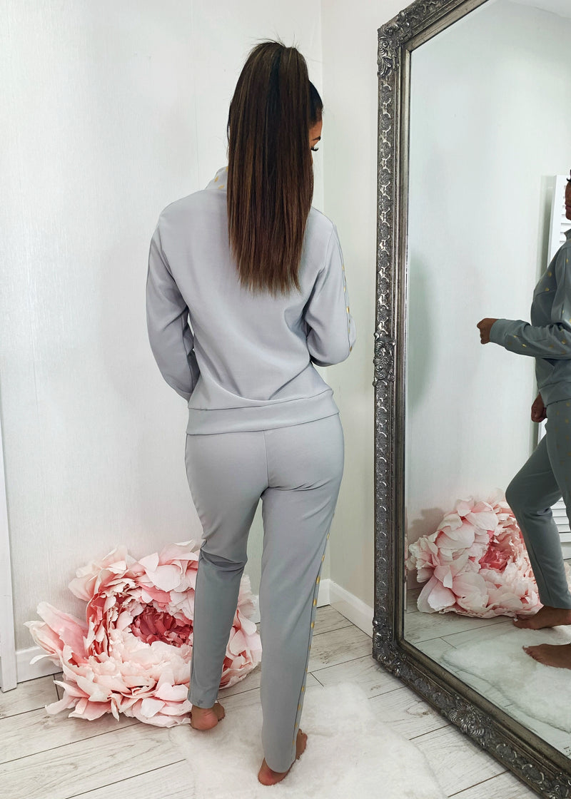 On The Spot Tracksuit - Grey