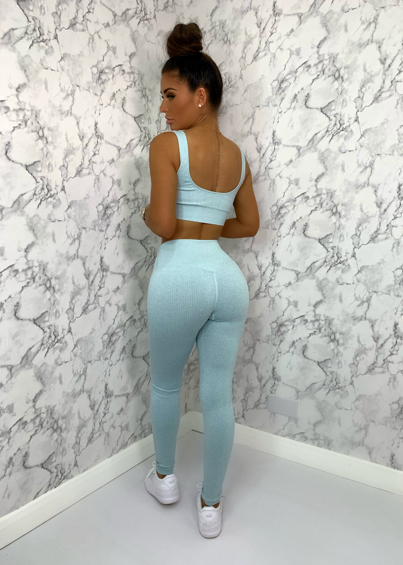 Fit Life Two Piece - Mint Blue