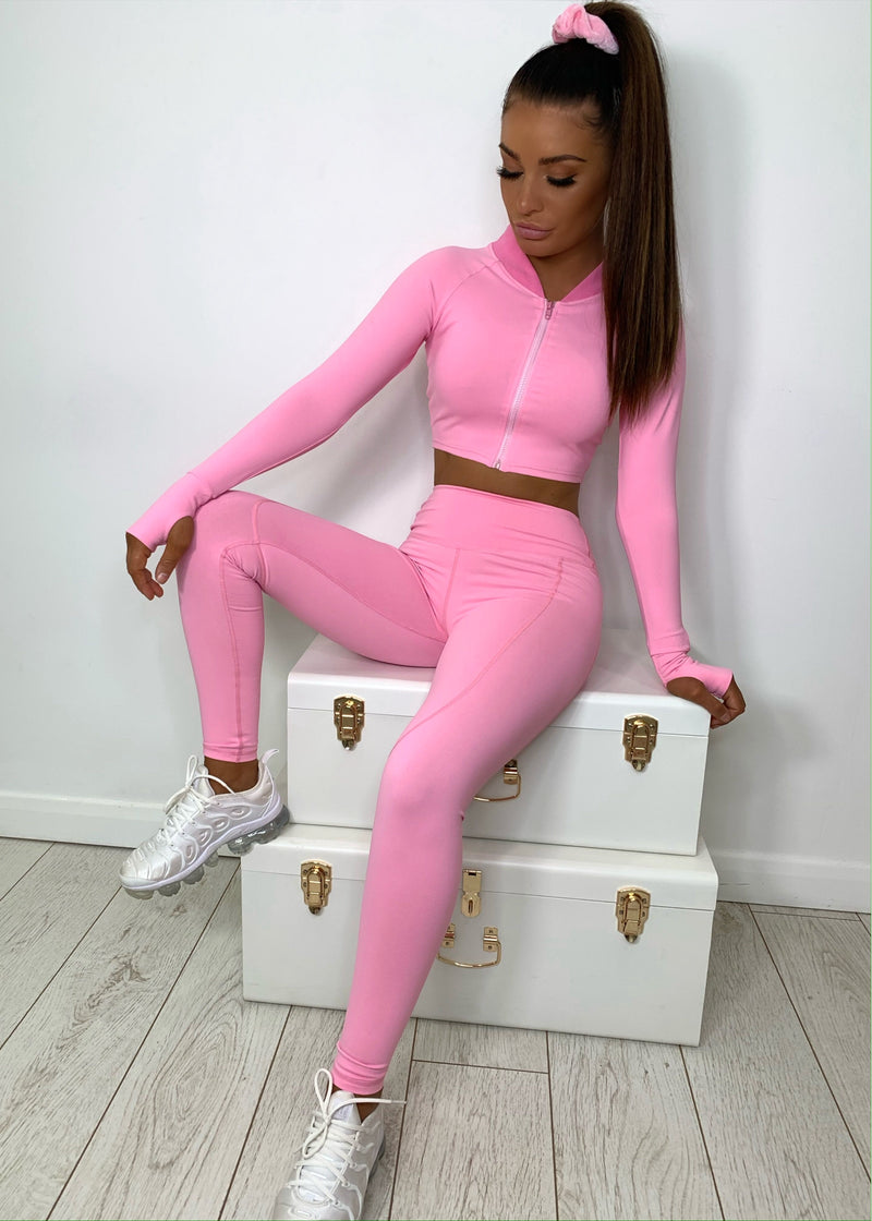 Bright Delight Two Piece - Pink