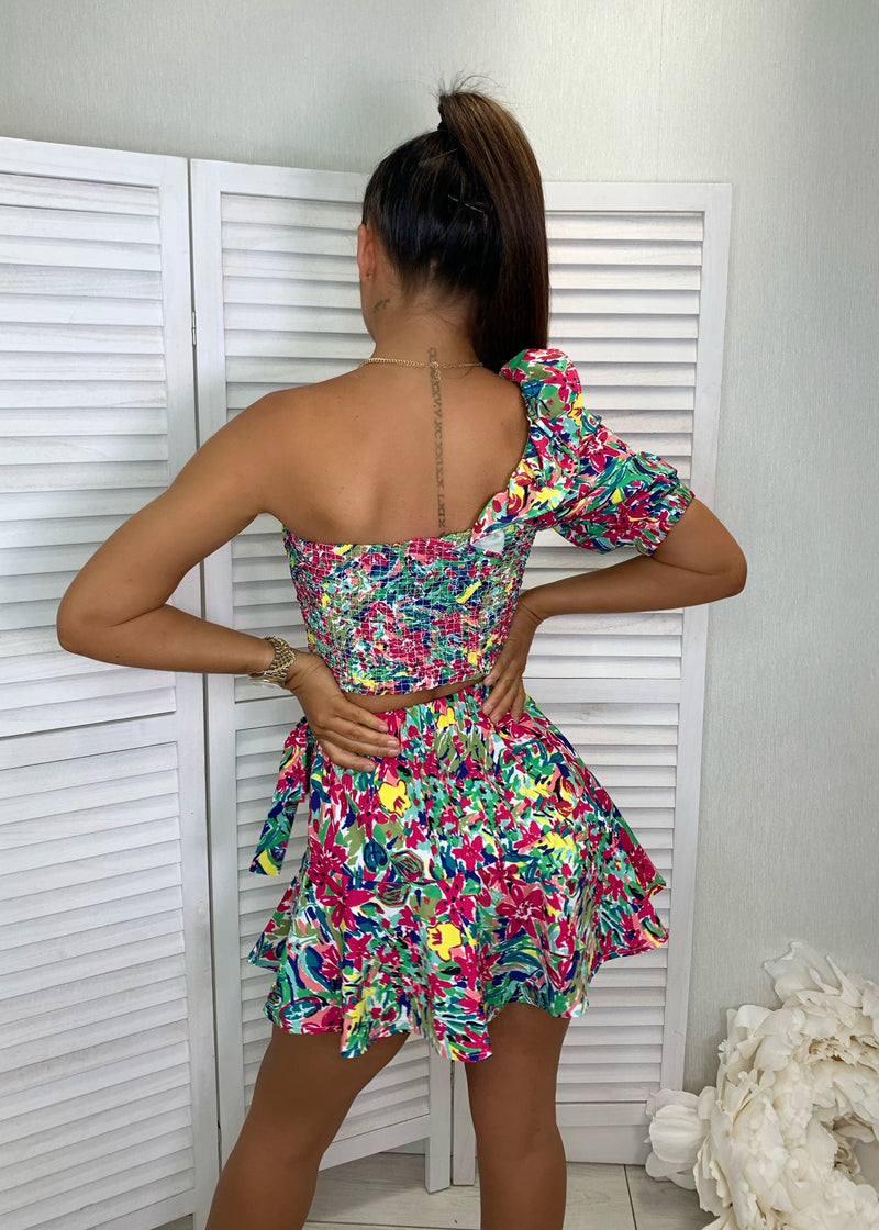 Seed The Way Floral Print Two Piece