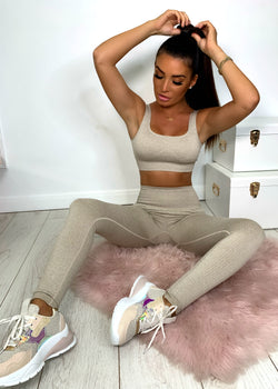 Fit Life Two Piece - Oatmeal