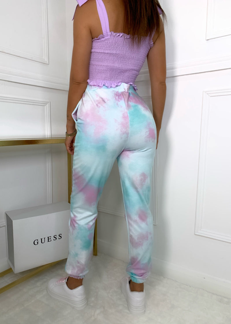 Right On The Tie Dye Joggers