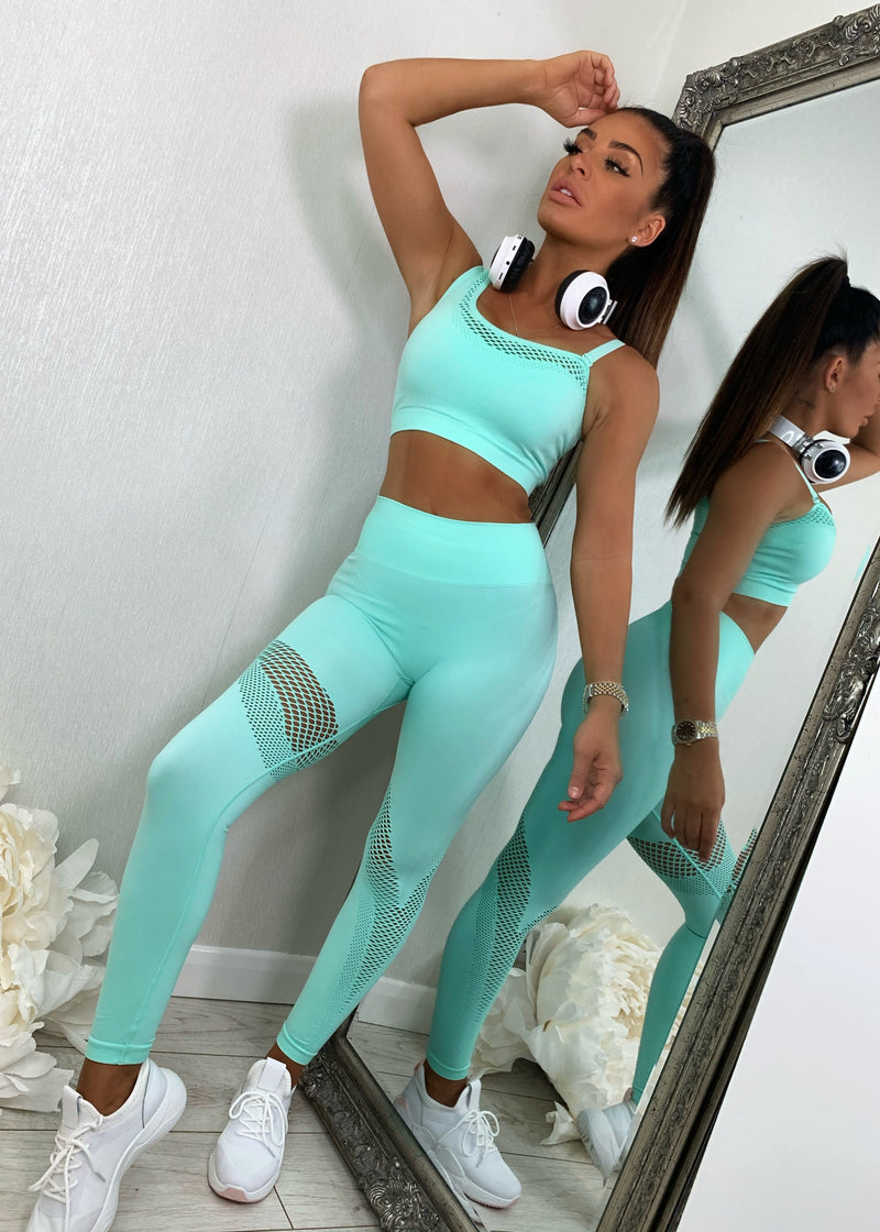 Motivation Active Set - Mint Green