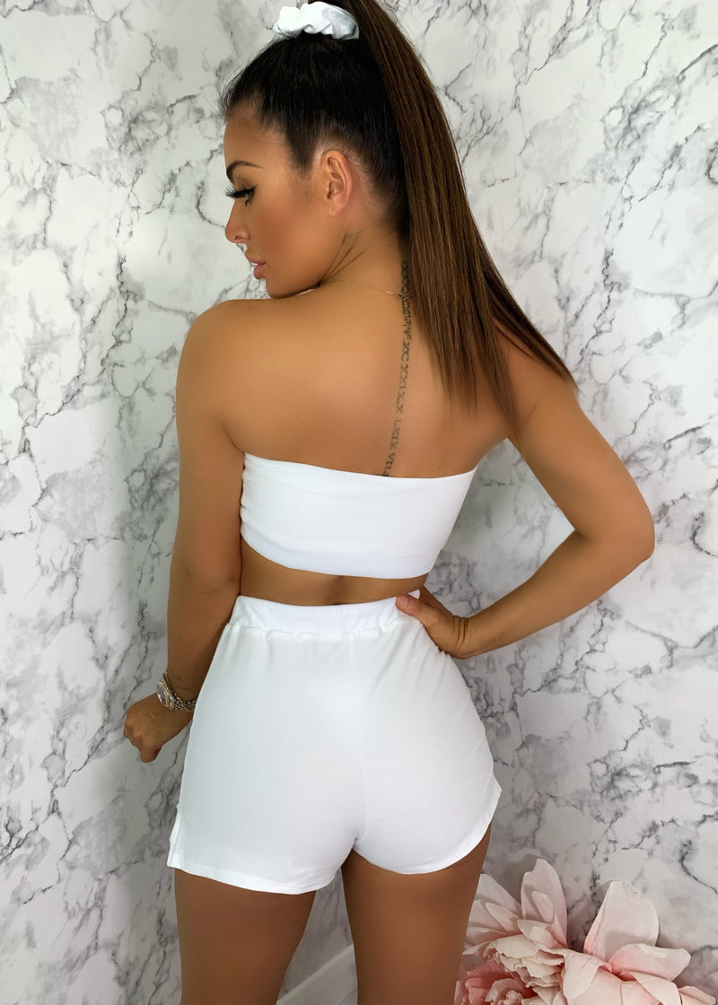 Lemonade Two Piece - White