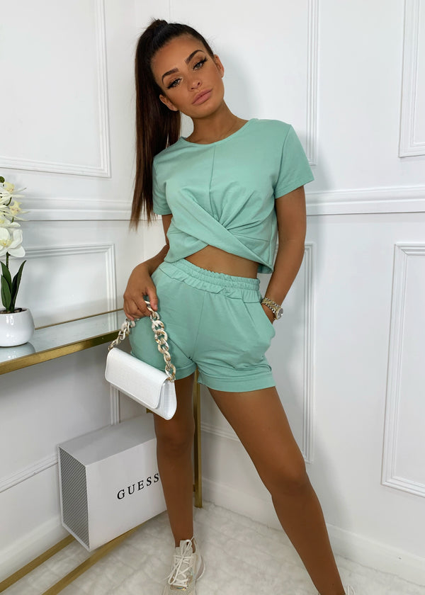 Love Twist Two Piece - Sage
