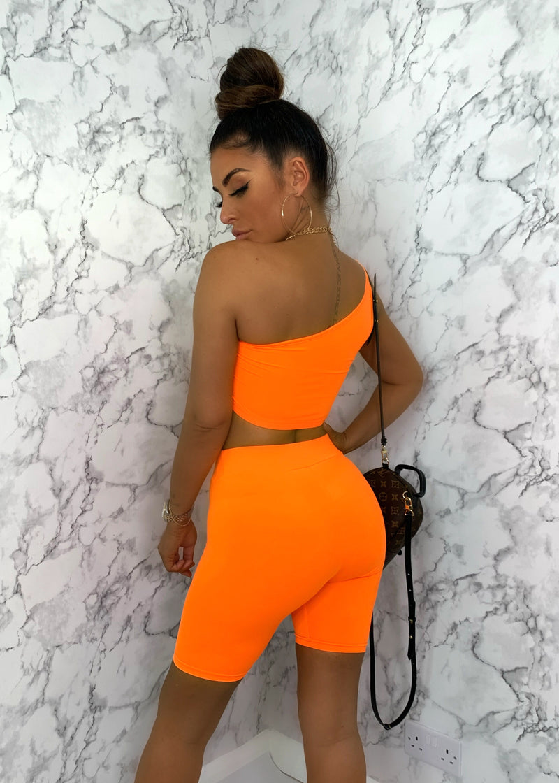 The Golden Rule Two Piece - Neon Orange
