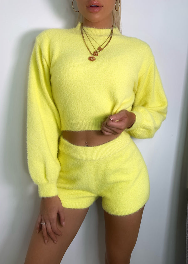 The Soft Parade Fluffy Two Piece - Yellow