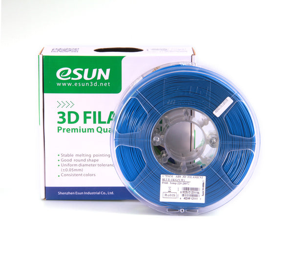 Clearance eSUN ABS Filament 1kg (2.2lb) 3mm